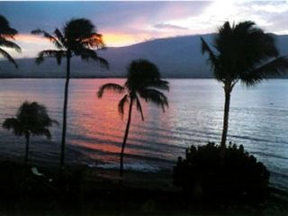 Sunrise over South Maui