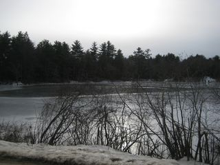 Winter on the Frozen Pond - Chepachet cottage vacation rental photo