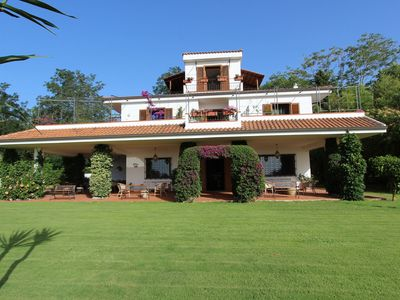 Beautiful villa is situated along one of the most charming coast-lines