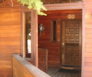 Alpine Meadows house rental - Covered Entry