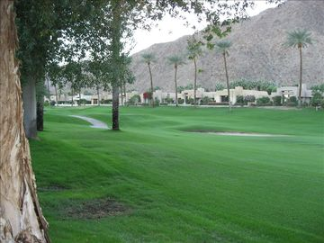 Eleventh Fairway of the Mounain Golf Course and Santa Rosa Mountains