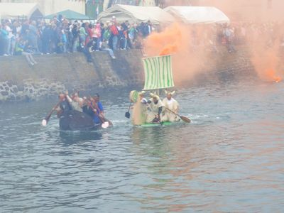 Fish Festival Raft Race