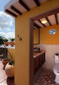 Roof terrace WC