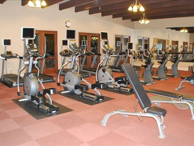 Fitness Center in the main clubhouse.
