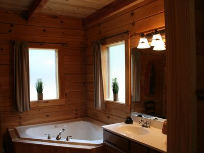 Master Bath's Jetted Tub