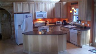 Gouldsboro cabin photo - Prepare a sumptuous feast in the fully equipped kitchen, or dine out...