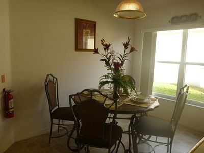 Indian Creek villa rental - Breakfast nook