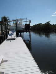 New Port Richey villa photo - Bring your boat, lot's of dock space