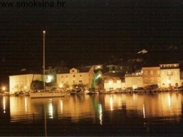 Milna at night