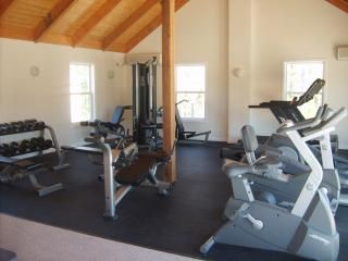 The exercise facility located at the club house