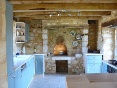 Le Grezier - kitchen