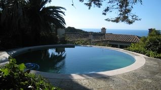 Colares house photo - Pool / sea / house