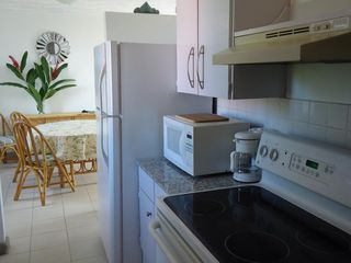 San Juan condo photo - Kitchen - Fully Equipped (fridge, stove, oven, microwave, coffee maker, blender)