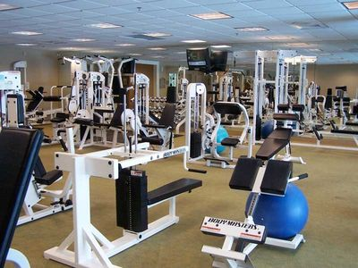 1ST CLASS FITNESS CENTER, JUST ONE OF THE AMENITIES AT THE CLUB AT SILVER SHELLS