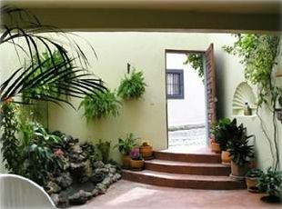 On entering the house you are embraced by a serene nature filled atrium and pond