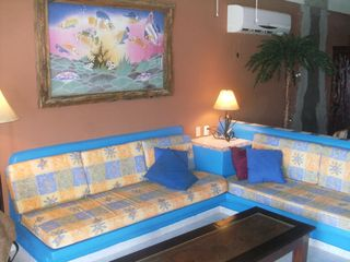 main level living room area - Isla Mujeres house vacation rental photo