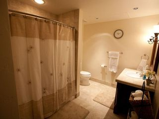 Avon condo photo - Guest Bathroom. Tub with shower.