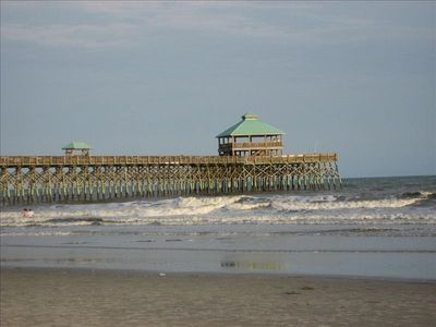 Edwin Taylor Fishing Pier is great for a stroll and it is free to visit.