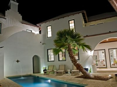 Private Courtyard with Heated Pool