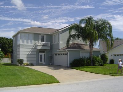 Disney area four bed pool home with games room & free wireless Internet