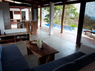 San Juan del Sur villa photo - Open concept home allows air to flow through keeping the house constantly cool