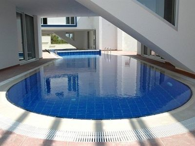 Kusadasi villa rental - Private pool, opposite view (70m2)