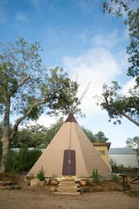 Geronimo Creek Retreat Tipis!