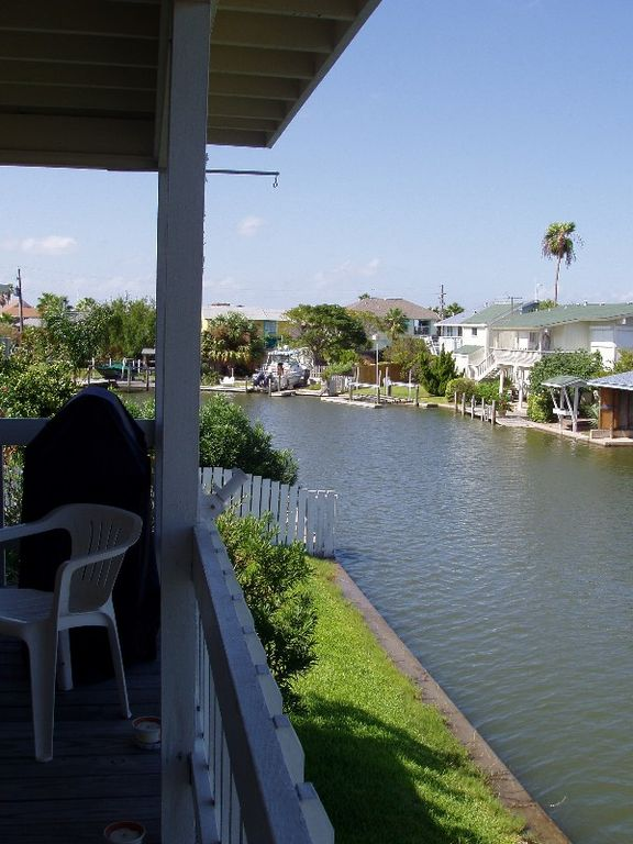 Back Deck view down canal
