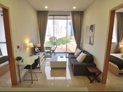 2BR Downtown Serviced Apartment @ MRT#T