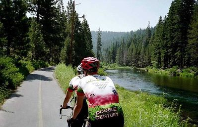 Riding Bikes along the Truckee River