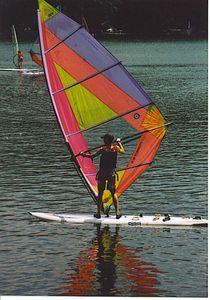 Wind Surfing, Main Lake