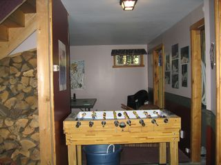 Jay Peak cabin photo - Foosball in Gameroom
