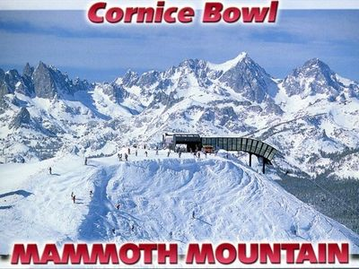Beautiful Mammoth Mountain - Best skiing in all of California.