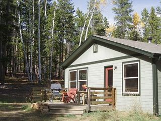 Evergreen house photo - Secluded, on dead end road with room to sit, play, grill and walk in Solitude