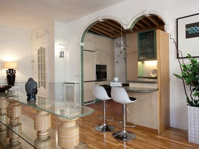 Sant Antoni apartment rental - Kitchen bar