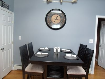 NEW KITCHEN TABLE WITH SEATING FOR 8 ADULTS