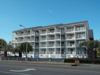 Blue Water Resort condo photo - Front View 3rd Floor 4th from Right From Ocean Blvd.
