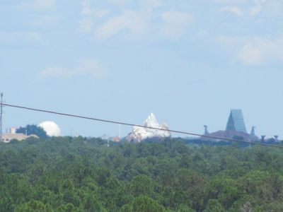 From the deck you see expedition Everest and more