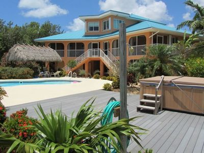 Ocean front Private Estate With Pool, Tiki, and Hot Tub