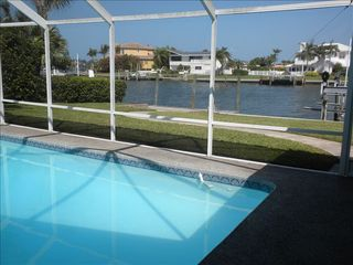 Sarasota house photo - Lanai - Pool - Dock