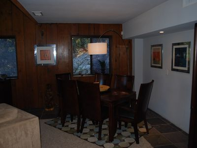 Idyllwild cabin rental - Dining Room
