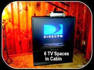 Twain Harte cabin photo - 6 TV Spaces for privacy for many families
