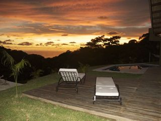 Mal Pais villa photo - Sunset every night at Casa Verde