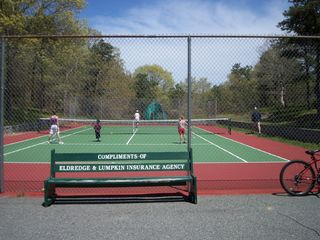Chatham house photo - Neighborhood tennis court w/B hoop
