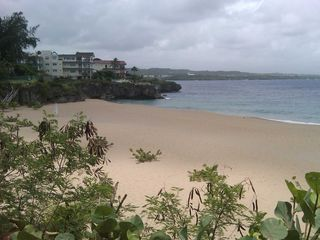 Sosua condo photo - The beach at the Waterfront restuarant just a five minute walk!
