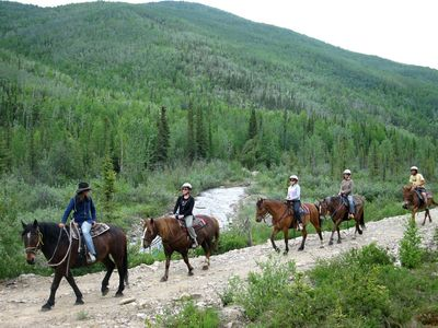 Guided Horseback Rides by Jessie Royer