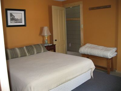 Scarborough and Pine Point cottage rental - Master Bedroom with Queen Bed
