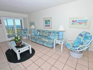 Holiday Surf and Racquet Club Destin condo photo - Living room view 1