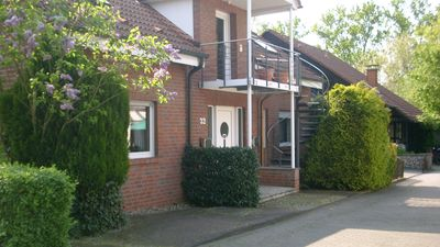 "Apartment - ""on the box"" for 2-4 people (about 110 m²) with garden"