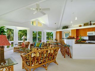 Princeville house photo - A great gathering place with beautiful views